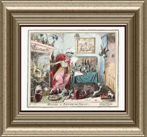 Timecamera - Antiqie Cartoon Lithograph Prints Collection 01
