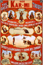 vintage circus prints and poster images 04
