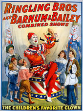 vintage circus prints and poster images 02