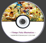 Timecamera Vintage Fairy Images Collection DVD
