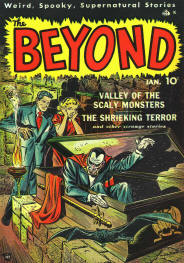 Vintage Horror Comic Cover