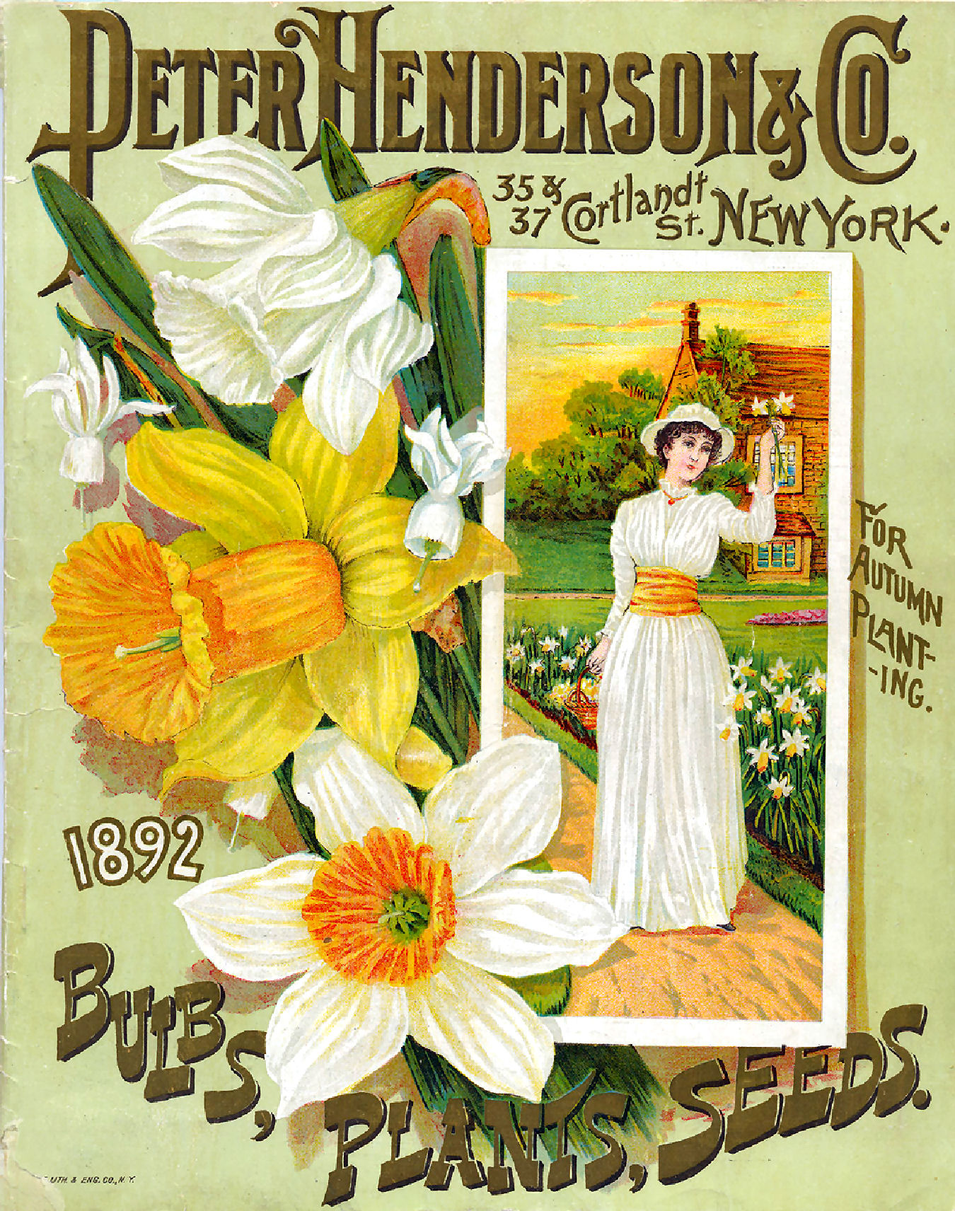 Vintage Seed Catalogue Cover